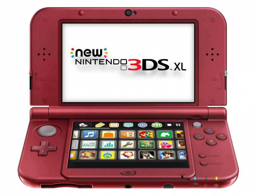New 3 DS Red