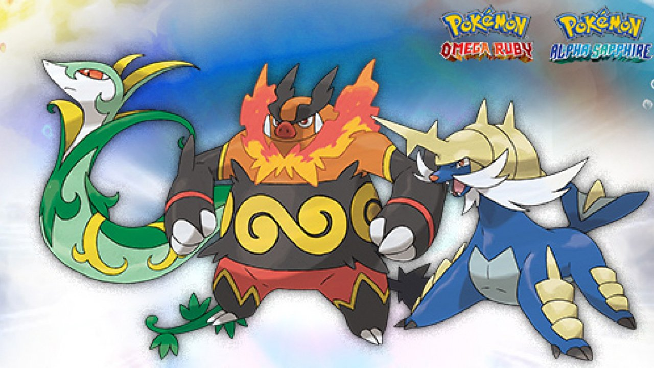 Reminder: Grab Your Free Samurott for Pokémon Omega Ruby