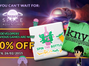 Spin the Bottle And Knytt Underground Going Half Price This Week