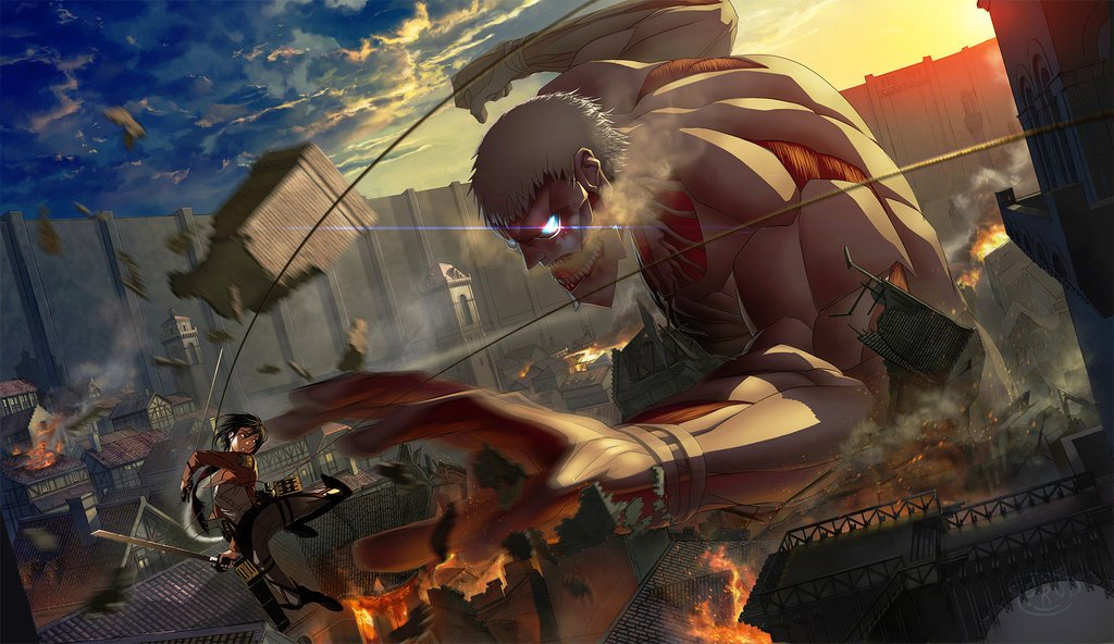 Did Atlus USA Just Tease Attack On Titan Localisation News By Scoffing A Hotdog?