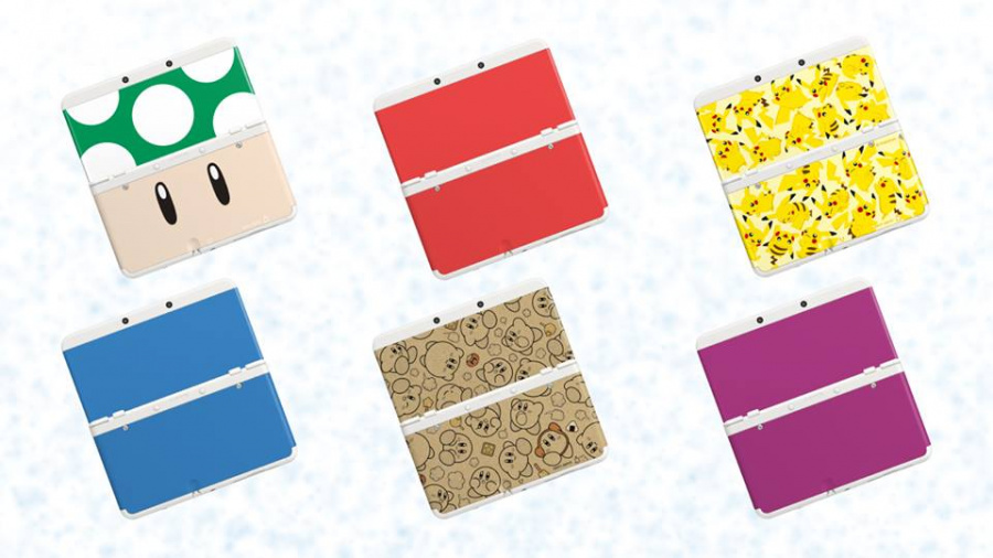 New 3 DS Coverplates - NL