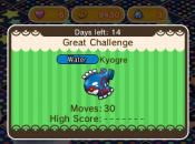 Pokémon Shuffle Updated Once Again, Adds a Special Kyogre Challenge