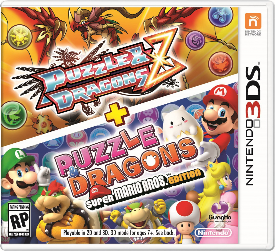 N3 DS Puzzleand Dragons Pkg
