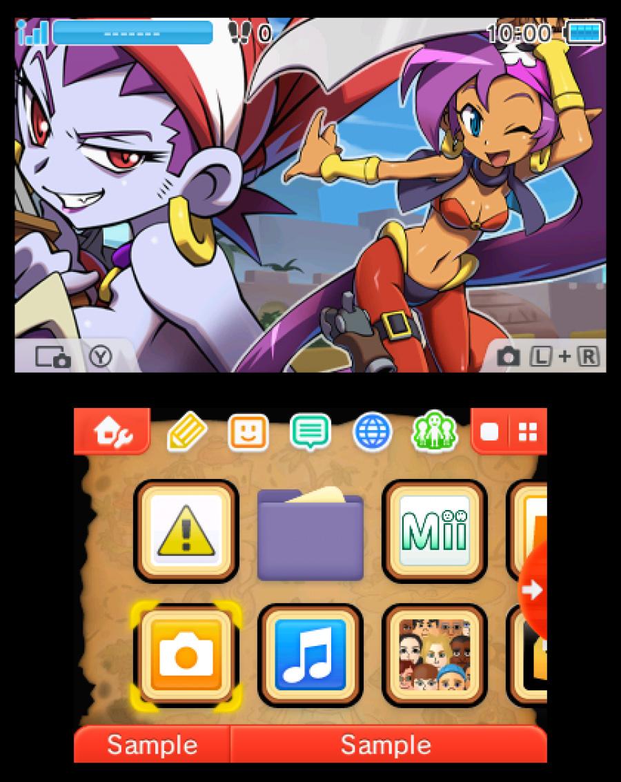 Shantae Pirate Premium Theme