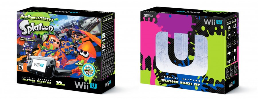 Splatoon Wii U Bundle