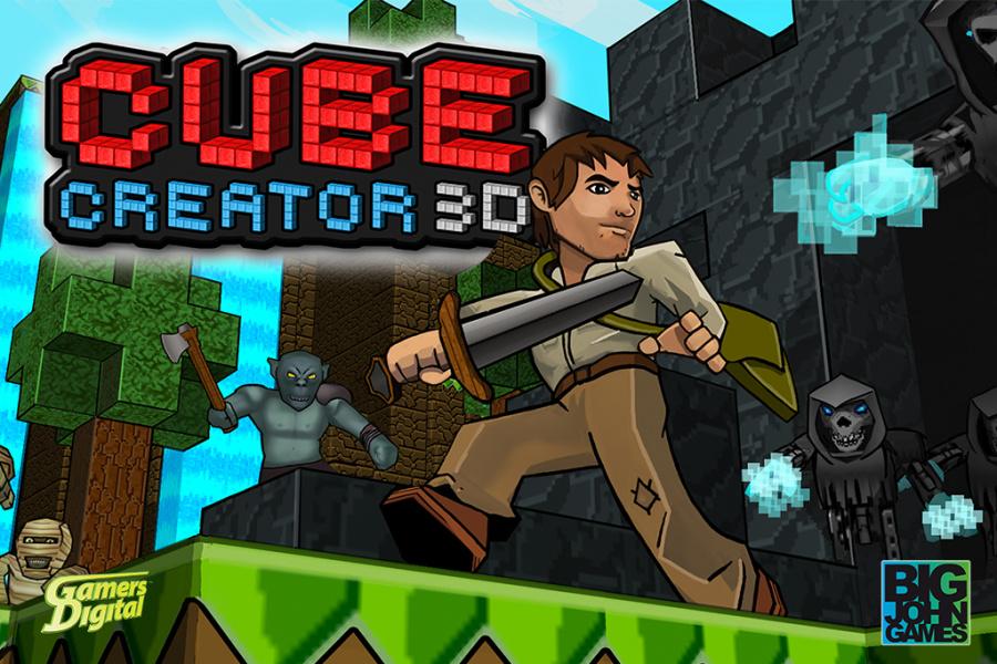 Cube Creator 3 D Poster Sz 1