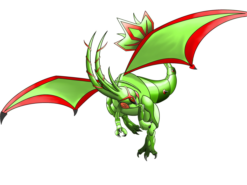 Flygon Was Once Going To Receive A Mega Evolution