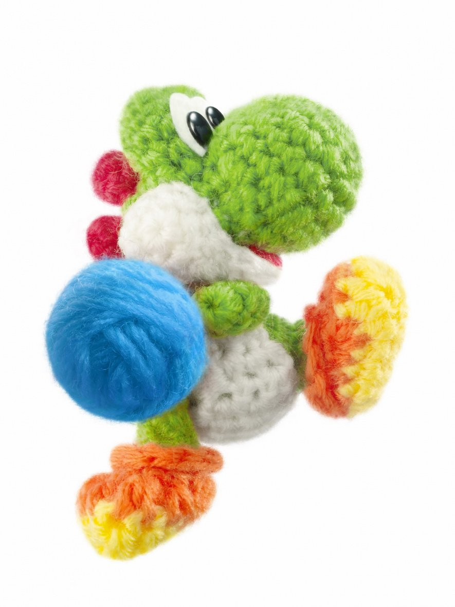 Knitting Patterns For Yoshi : Gallery: Yarn Yoshi Is Just Too Darn Cute - Nintendo Life