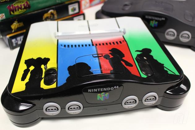 Hardware settle it with this customised super smash bros nintendo 64 console nintendo life - Super nintendo 64 console ...
