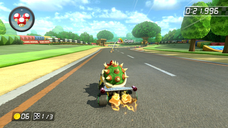 Mario Kart 8's 200cc Mode Has Apparently Negated Firehopping