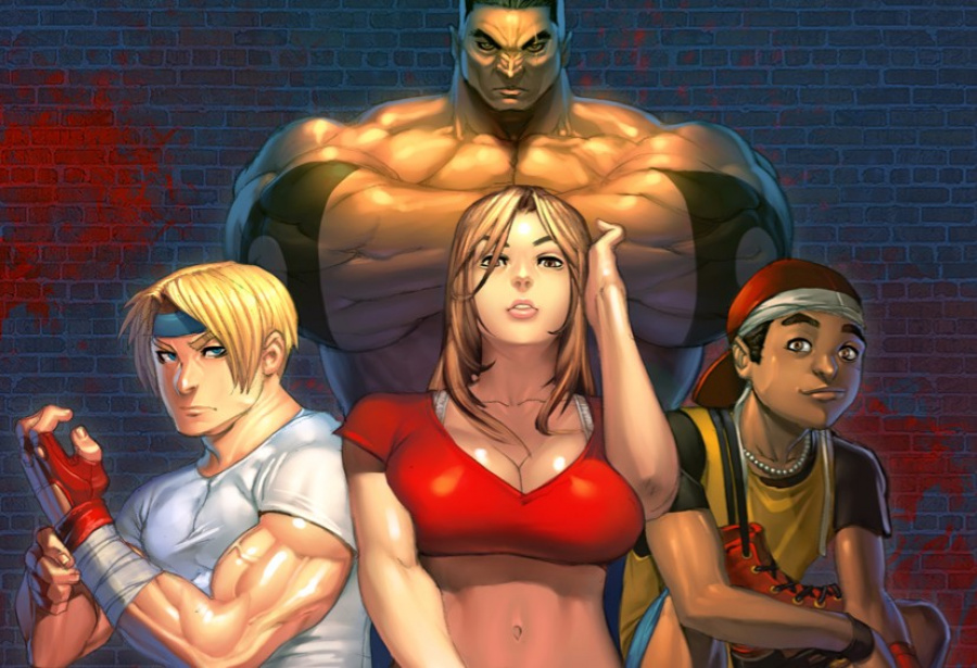 Streets of Rage 2 by Lost Tyrant D3 Bkdr0