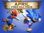 Monster Hunter 4 Ultimate April DLC Available Now, Featuring Sonic Palico Gear