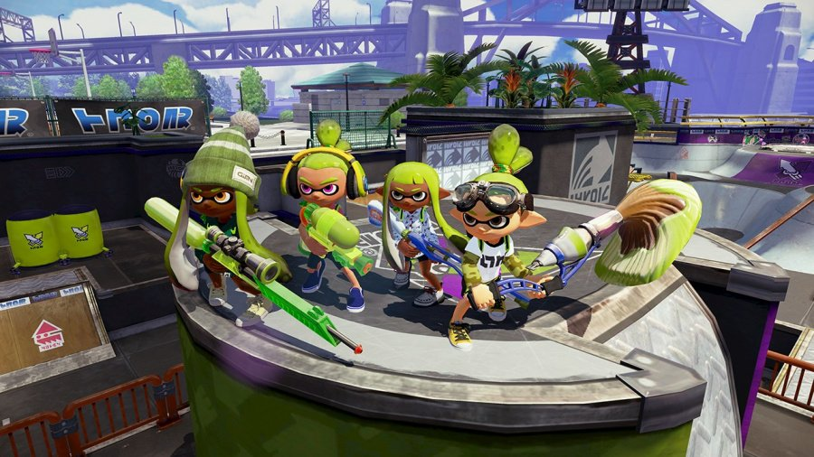 Splatoon Screen