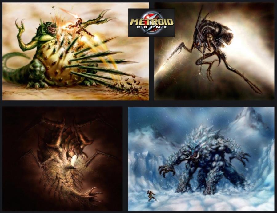Metroid Prime Bosses