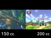 This 200cc Mario Kart 8 Comparison Footage Shows Insane Speed Through Piranha Plant Pipeway