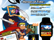 WayForward is Bringing Shantae and Friends to the Apple Watch in Watch Quest! Heroes of Time