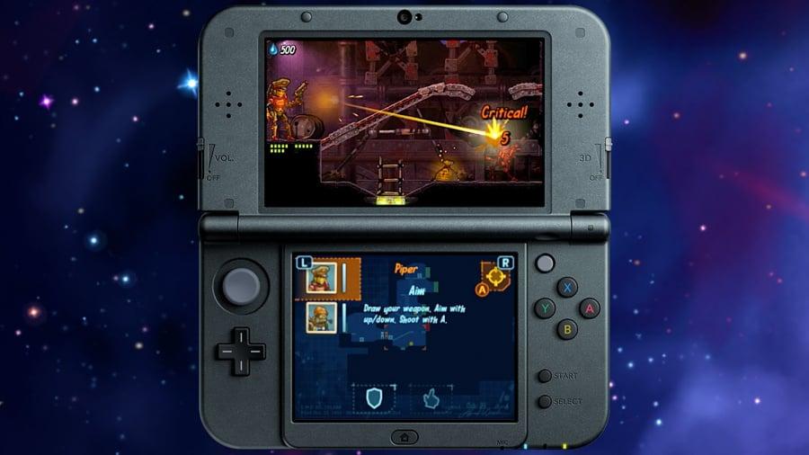 Steam World Heist 3 DS Screenshots