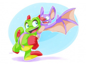 Less Than A Day Old And Yooka-Laylee Already Has Lots of Awesome Fan-Art