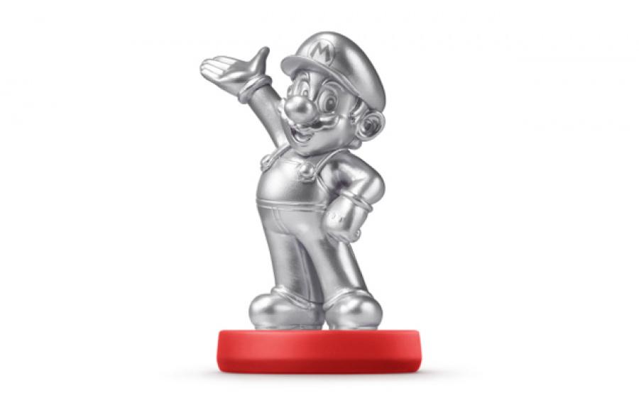 Mario – Silver Edition amiibo Figure