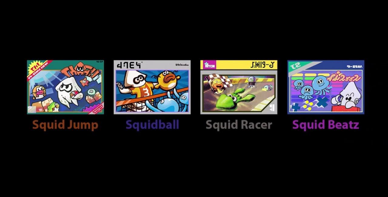 Wii U Arcade Machine : Play bit retro squid games while you wait for an online