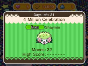 Pokémon Shuffle Hits Four Million Downloads and Launches Shaymin Event