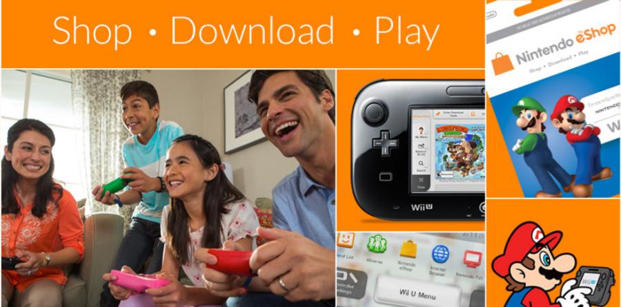 Wii U E Shop