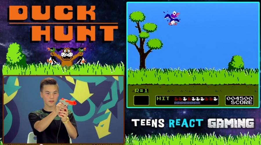 Duck Hunt Reaction 1