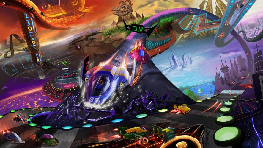Amazing F-Zero fan art by FirebornForm