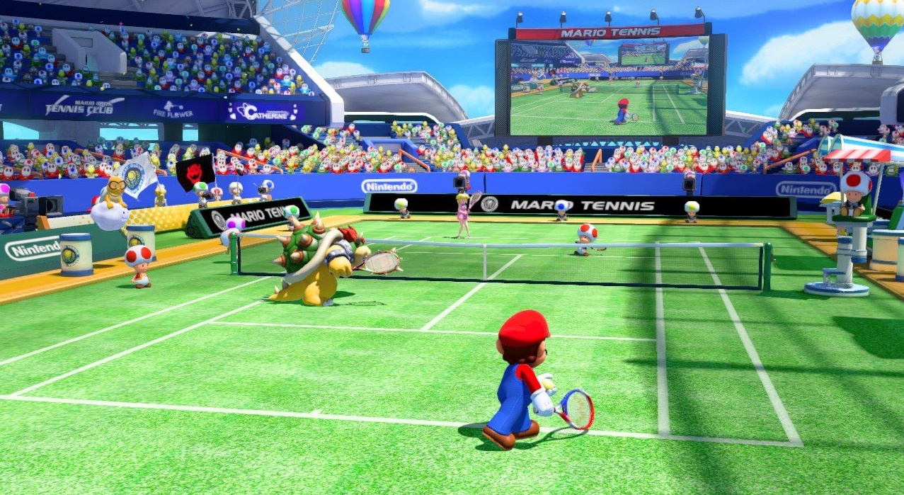 first impressions holding court with mario tennis ultra smash