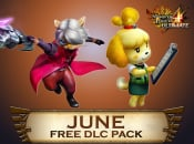 Monster Hunter 4 Ultimate June DLC Brings Animal Crossing, Devil May Cry and Awesome Designs