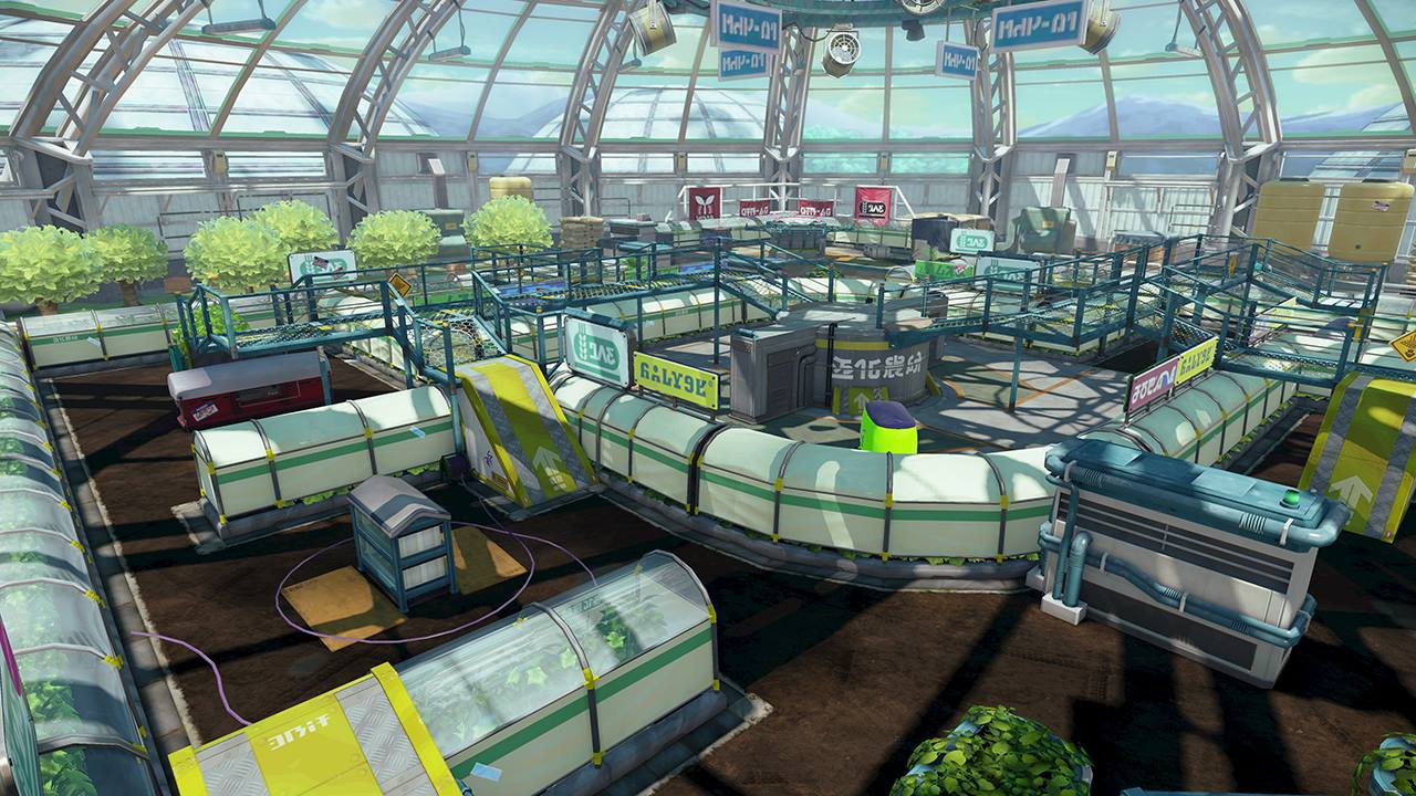 get messy in splatoon s latest free stage kelp dome nintendo life