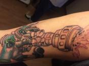 Man Gets Inked In Splatoon, Literally