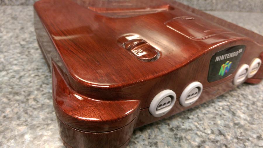 Woodgrain N64