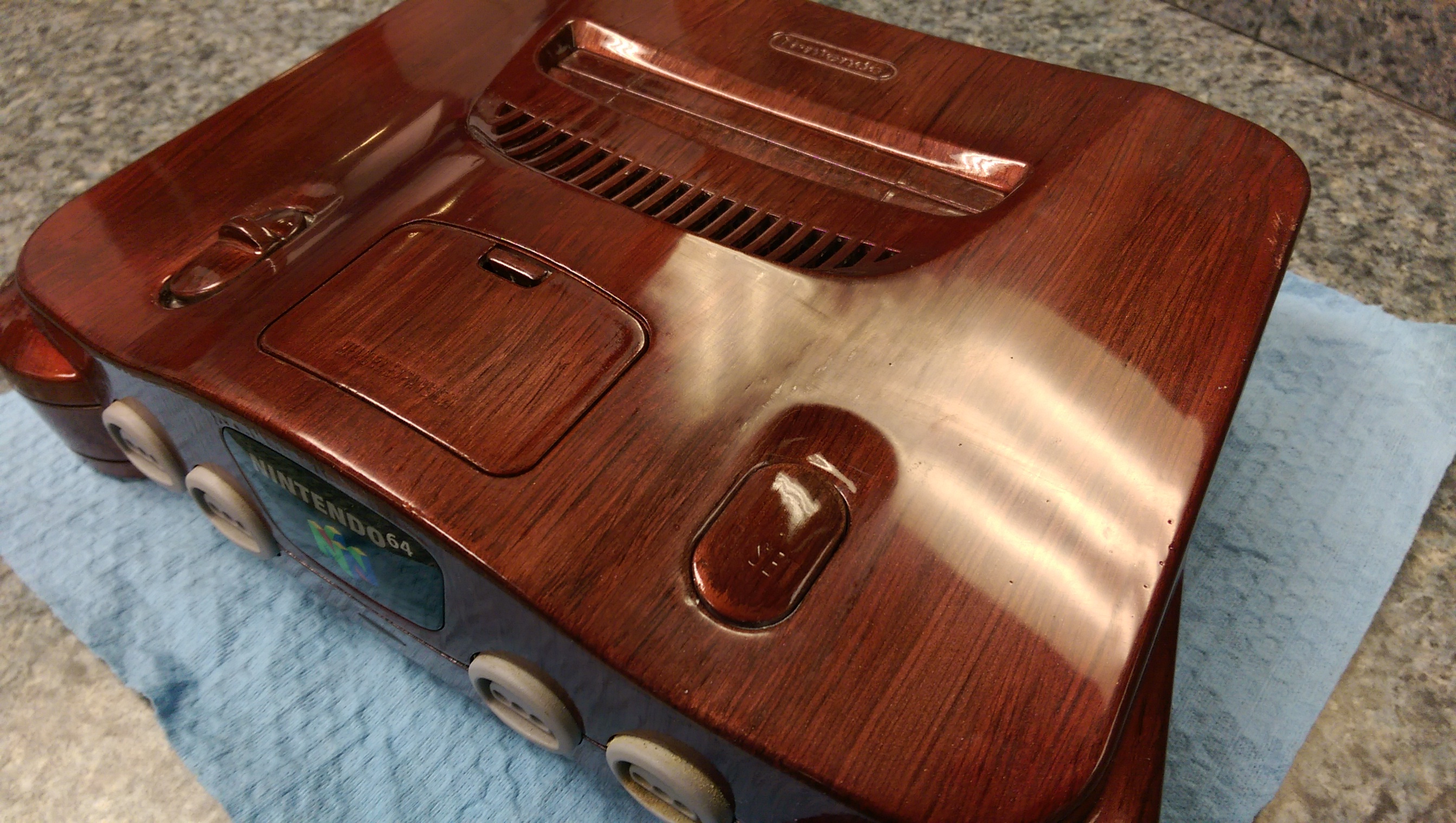 Gallery Marvel At This Woodgrain Styled N64 Nintendo Life