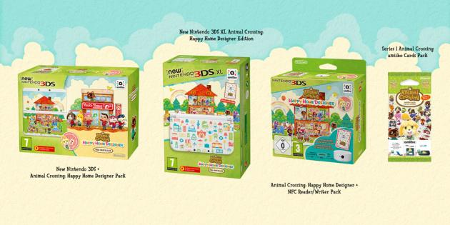 Animal Crossing Happy Home Designer Bundles EU