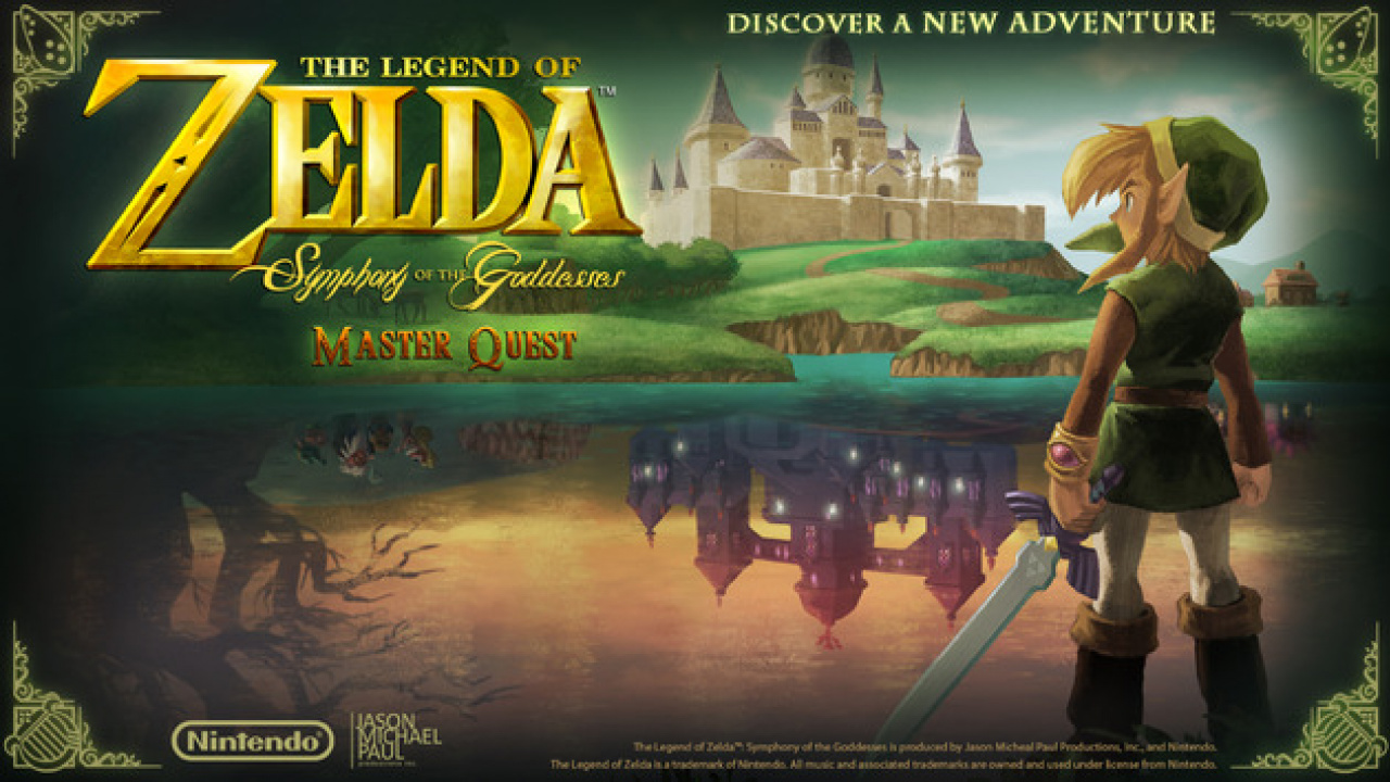 The Legend Of Zelda Symphony Of The Goddesses Master Quest World Tour Gets Extended Nintendo Life