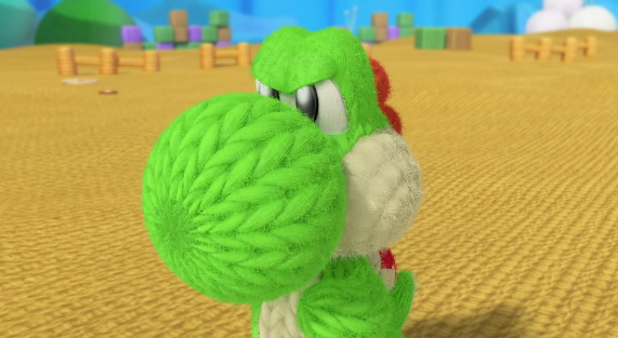 Weirdness Yoshi Gets Mad In Latest Yoshis Woolly World Commercials