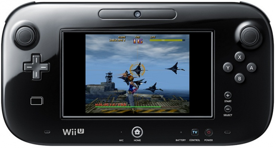 Sin & Punishment - Wii U Game Pad