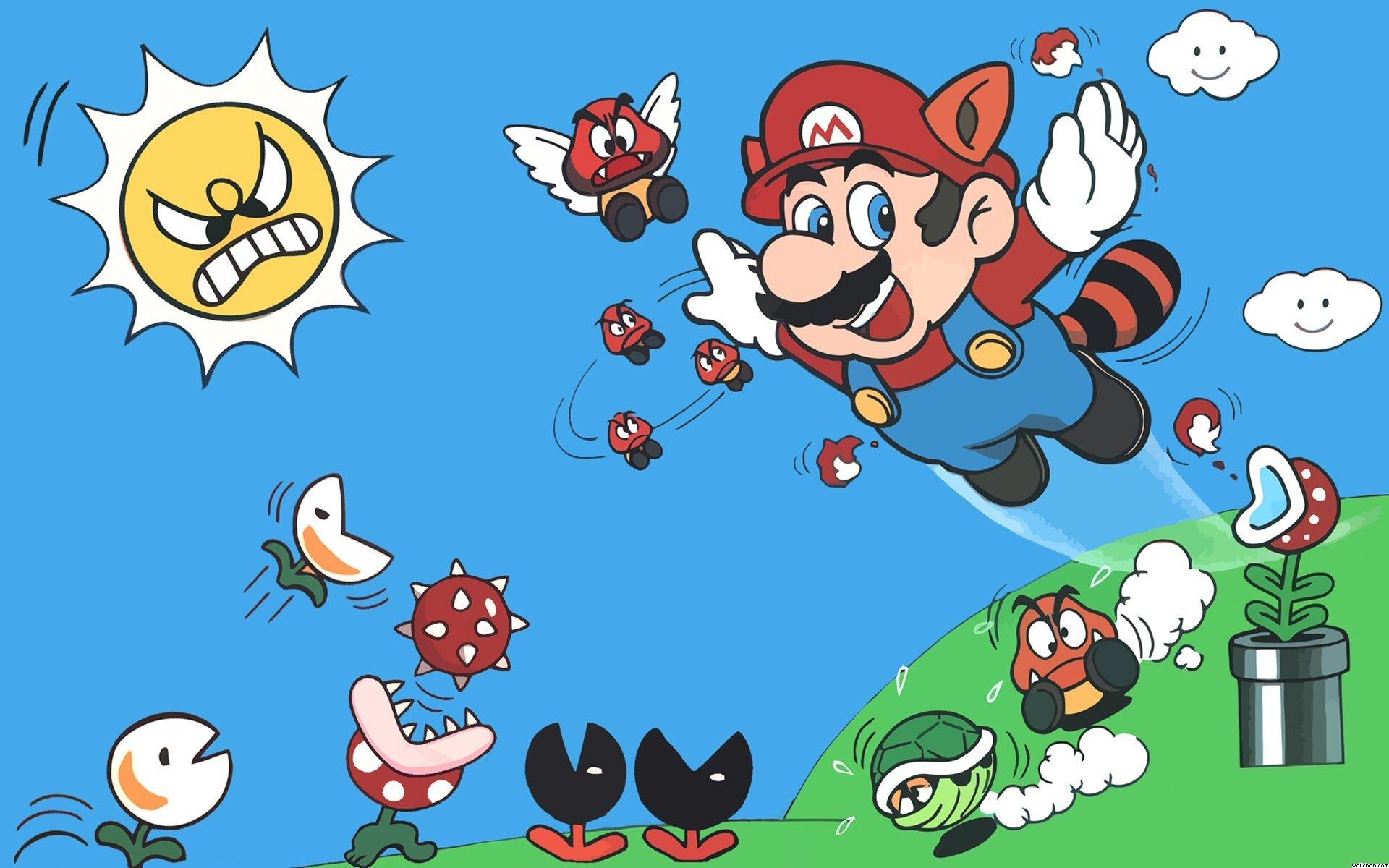 Mario Memories Playing Super Mario Bros 3 In The Garden