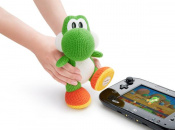 Mega Yarn Yoshi amiibo Stampedes onto Shelves this November