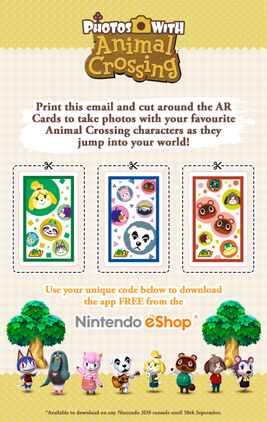 Nintendo uk sends out free photos with animal crossing download nuk animal crossingg gumiabroncs Image collections