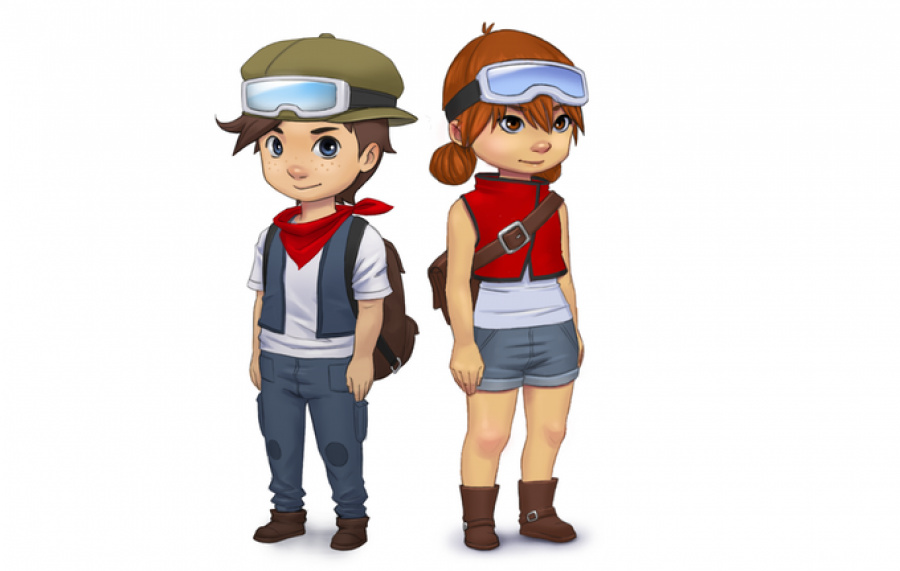 The main character can be a boy or a girl