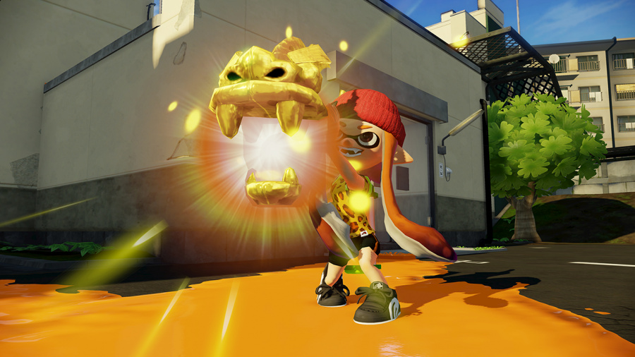 Rainmaker is another new mode for all those that have bought Splatoon to enjoy