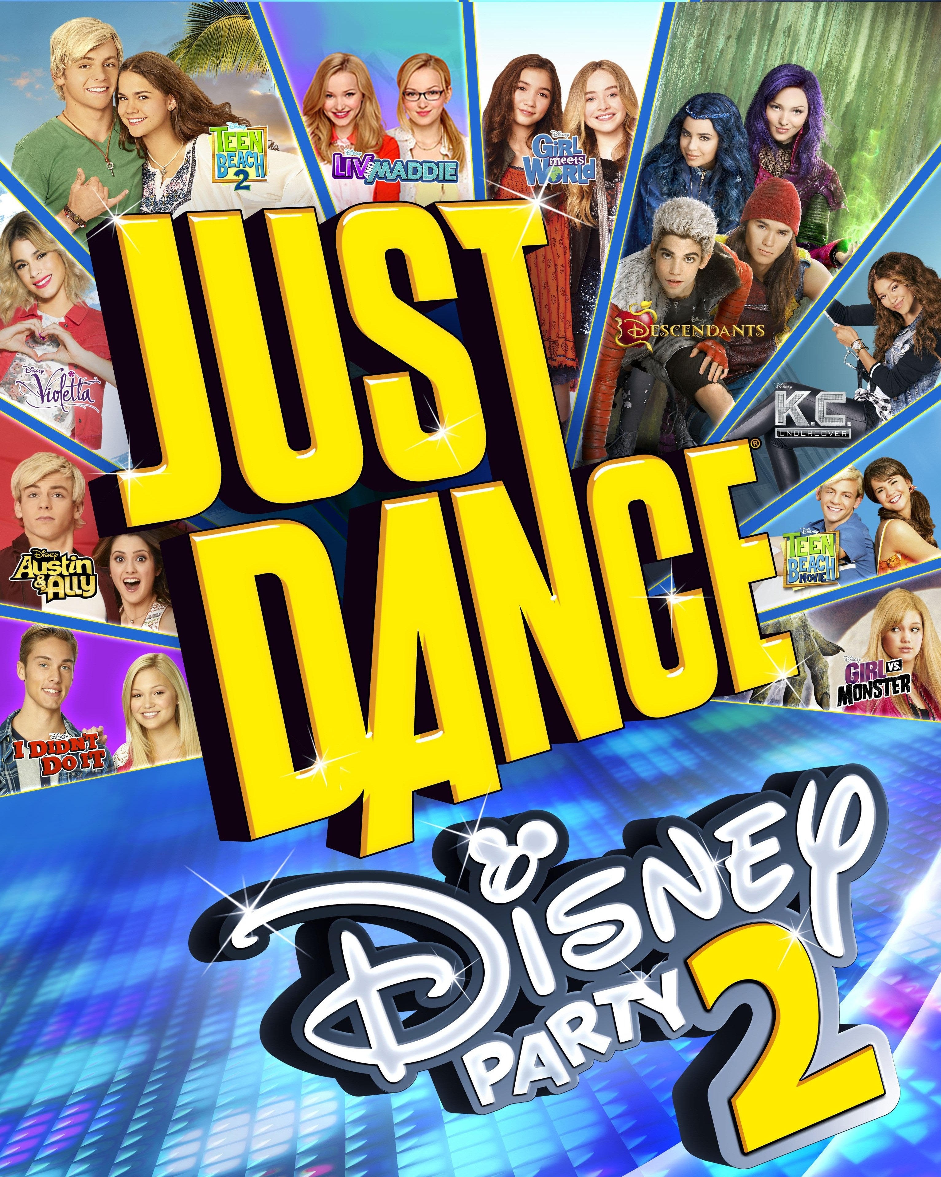 ubisoft announces just dance disney party 2 is coming to the wii u this holiday season. Black Bedroom Furniture Sets. Home Design Ideas