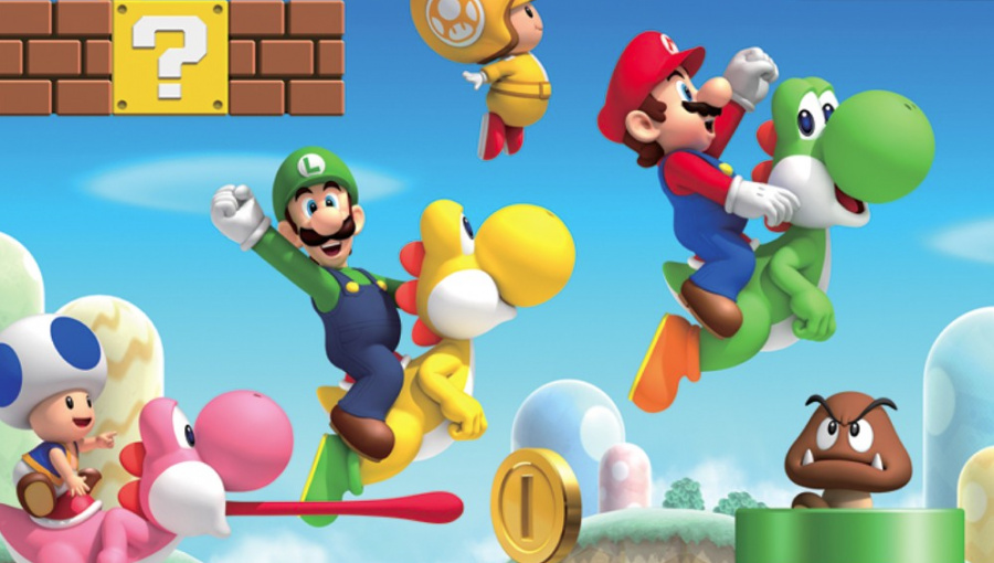 Mario History: New Super Mario Bros. Wii - 2009