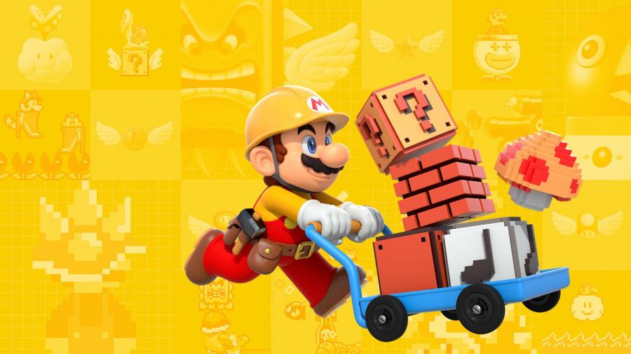 Super Mario Maker Update