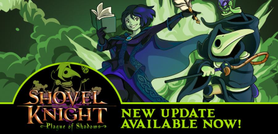 Shovel Knight Update