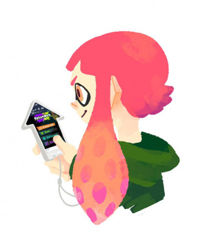 An inkling checking to see what stages are up next