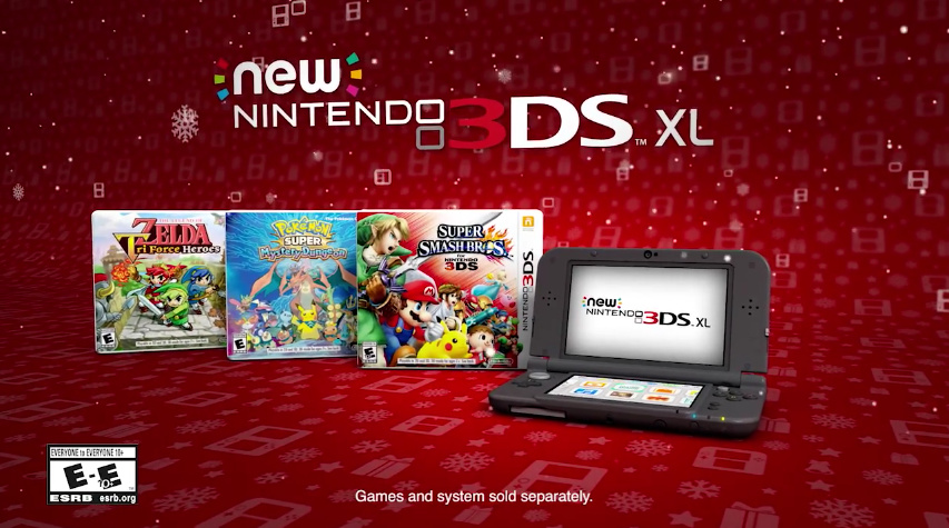 Video Nintendo Focuses On A Mix Of Old And New In 3ds Holiday Commercial Nintendo Life
