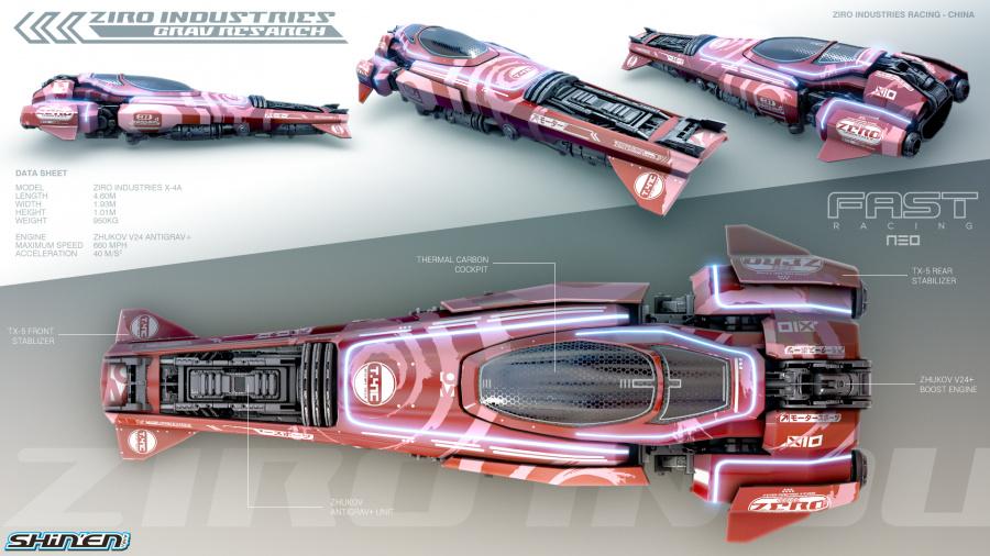 ZIRO INDUSTRIES - lightweight vehicle (click to enlarge)